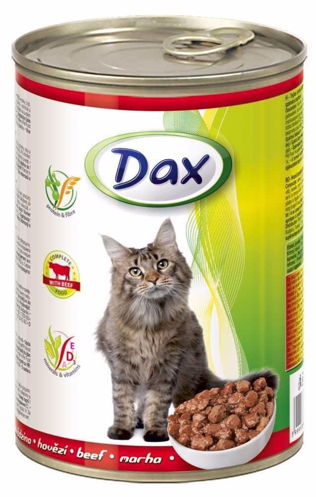 Dax Cat kousky hovězí 415 g