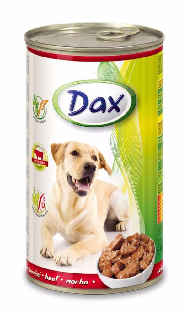 Dax Dog kousky hovězí 1240 g
