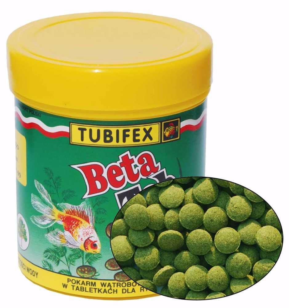 Tubifex Beta Tab (býložravé ryby na dně) 125 ml