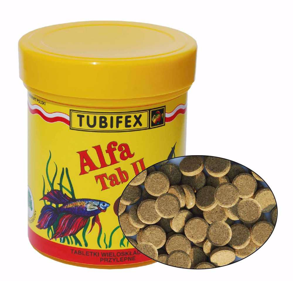 Tubifex Alfa Tab II (lepící na sklo) 125 ml