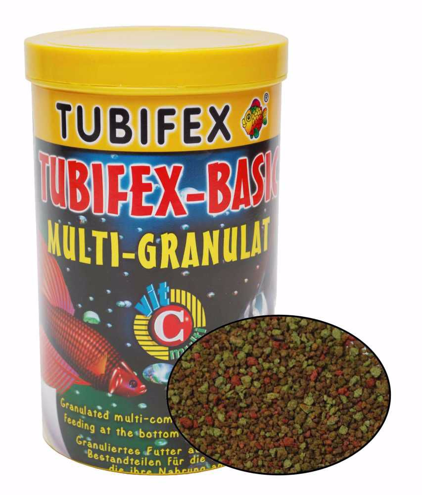 Tubifex Basic Granulat 250 ml
