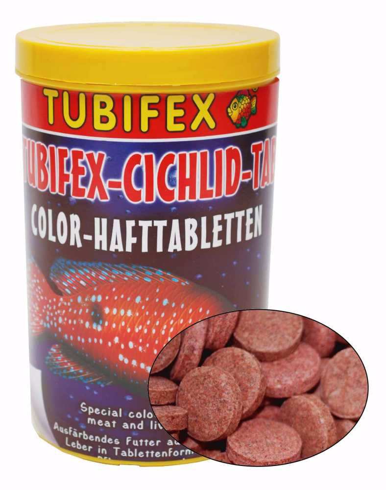 Tubifex CICHLID TAB 125ml-10108