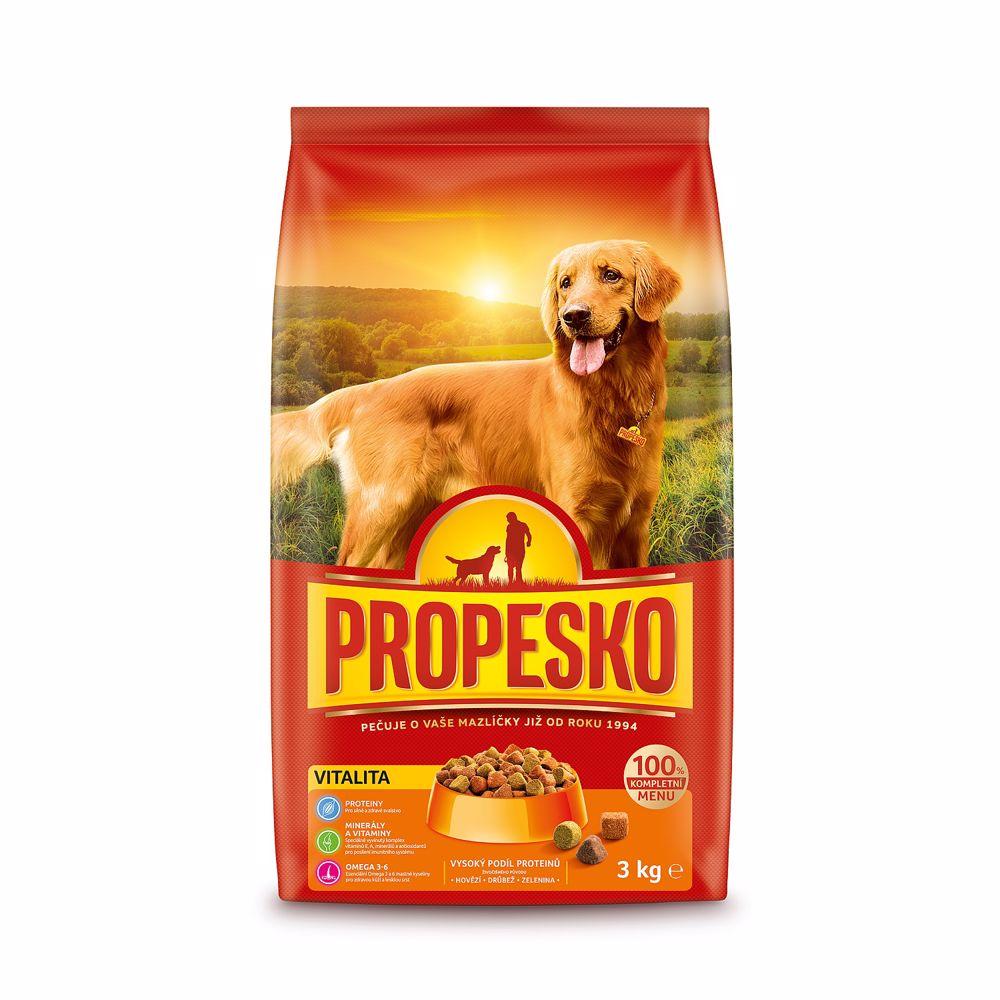 PROPESKO Dog Vitality, granule 3 kg