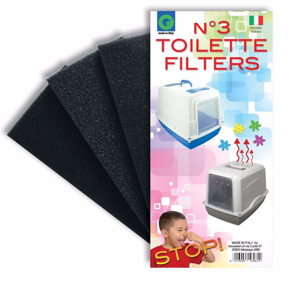 Filtr náhradní do WC (3 ks)