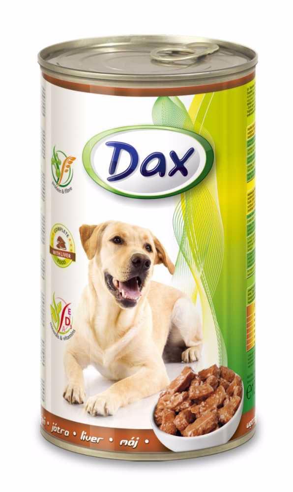Dax Dog kousky játrová 1240 g