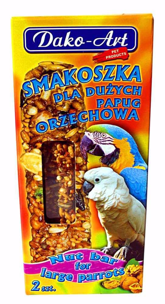 Dako Tyčinka velký papoušek ořech 2ks-10279