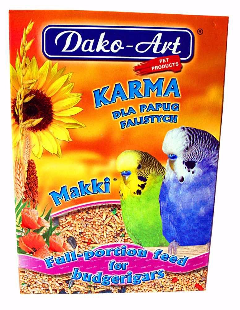 Krmivo andulka Dako 500 g