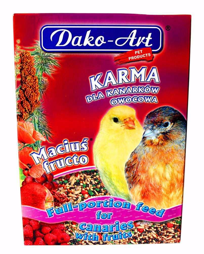 Krmivo s ovocem kanár Dako 500 g
