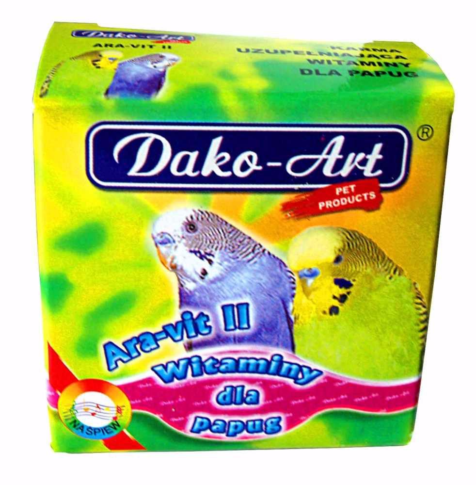 Vitamíny na mluvení papoušek Dako 35 g