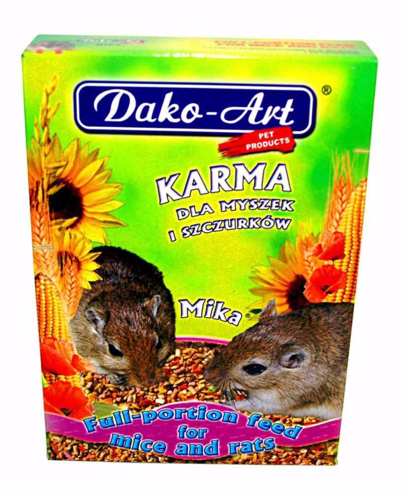 Krmivo myš, potkan Dako 500g