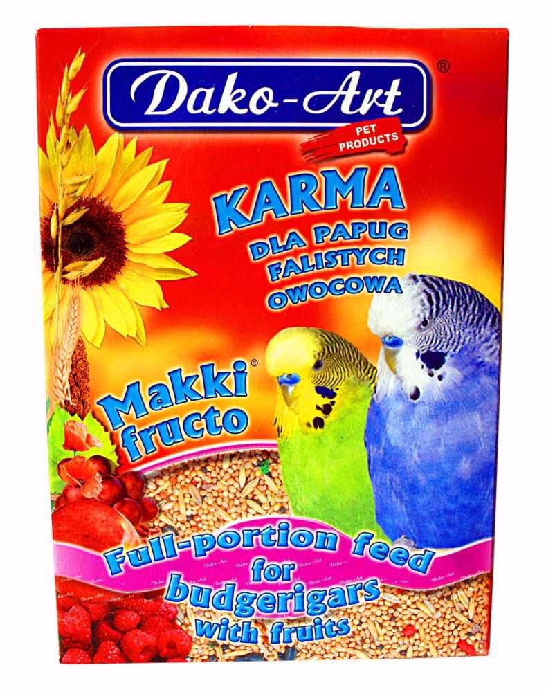 Krmivo andulka Dako ovoce 500g