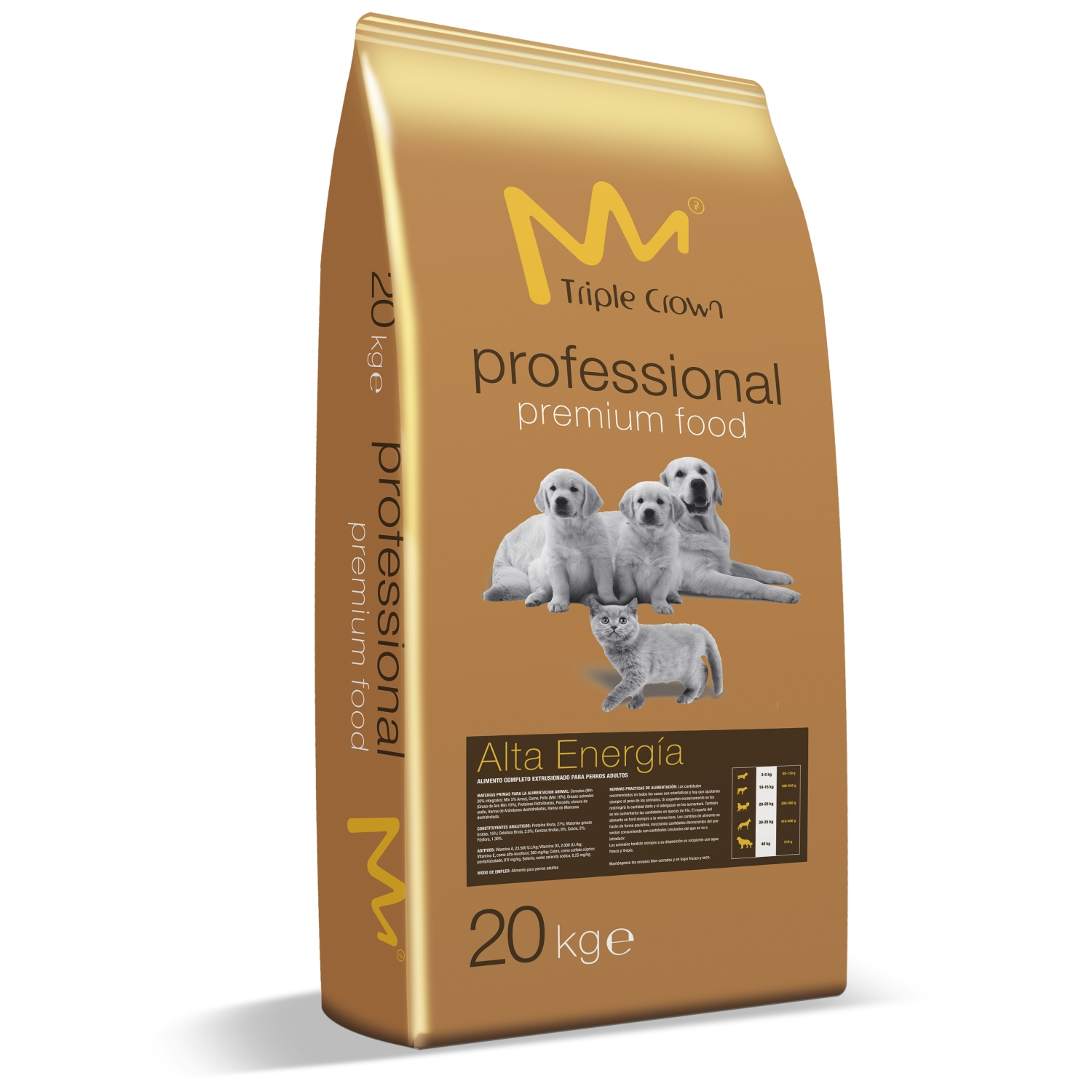 TRIPLE CROWN HOUSY CAT PROFESSIONAL 20kg-10393-Z