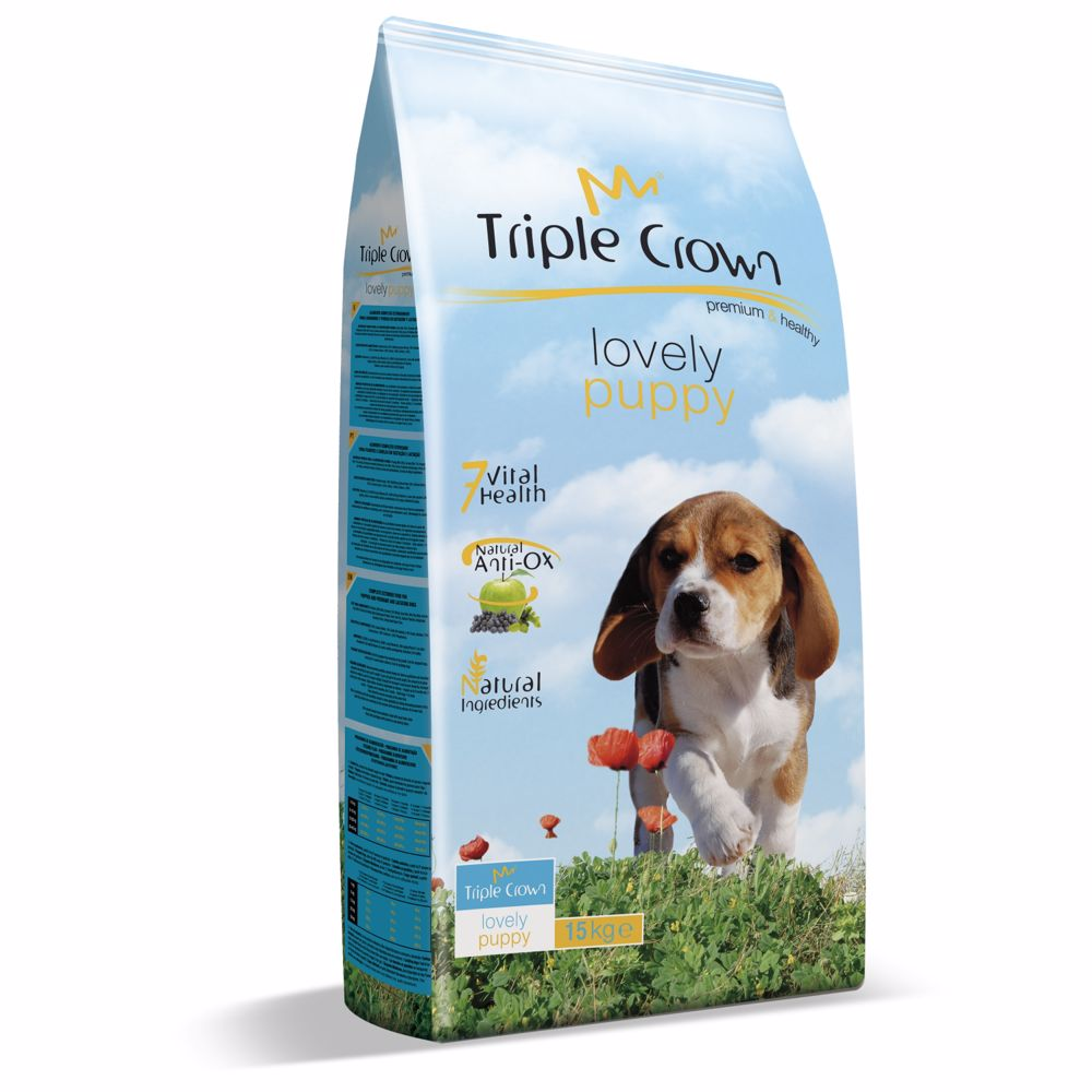Triple Crown Dog Puppy Lovely 15 kg
