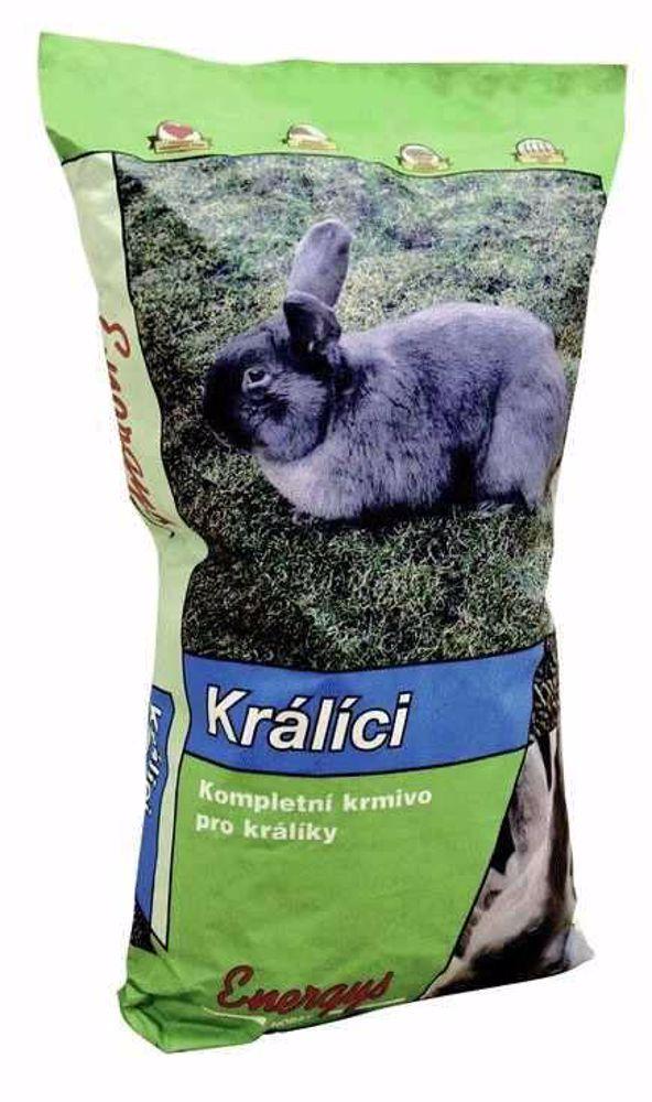 Energys Champion králík (výstavní,bez) 25 kg