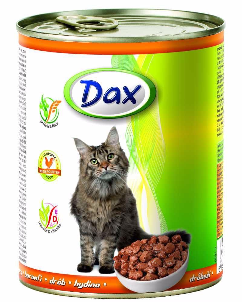 Dax Cat kousky drůbeží 830 g