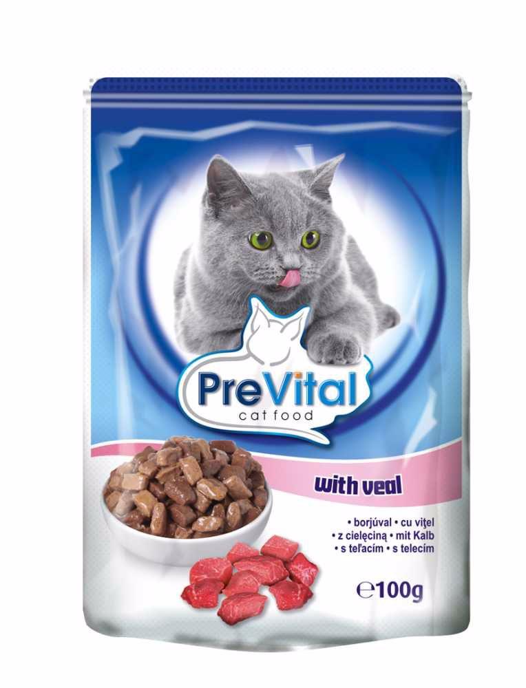 PreVital kočka telecí, kapsa 100 g