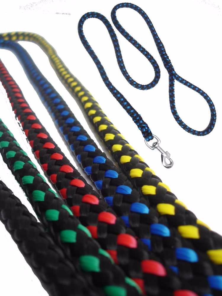 Vodítko Lano-12 pletené-různé dekory-11551