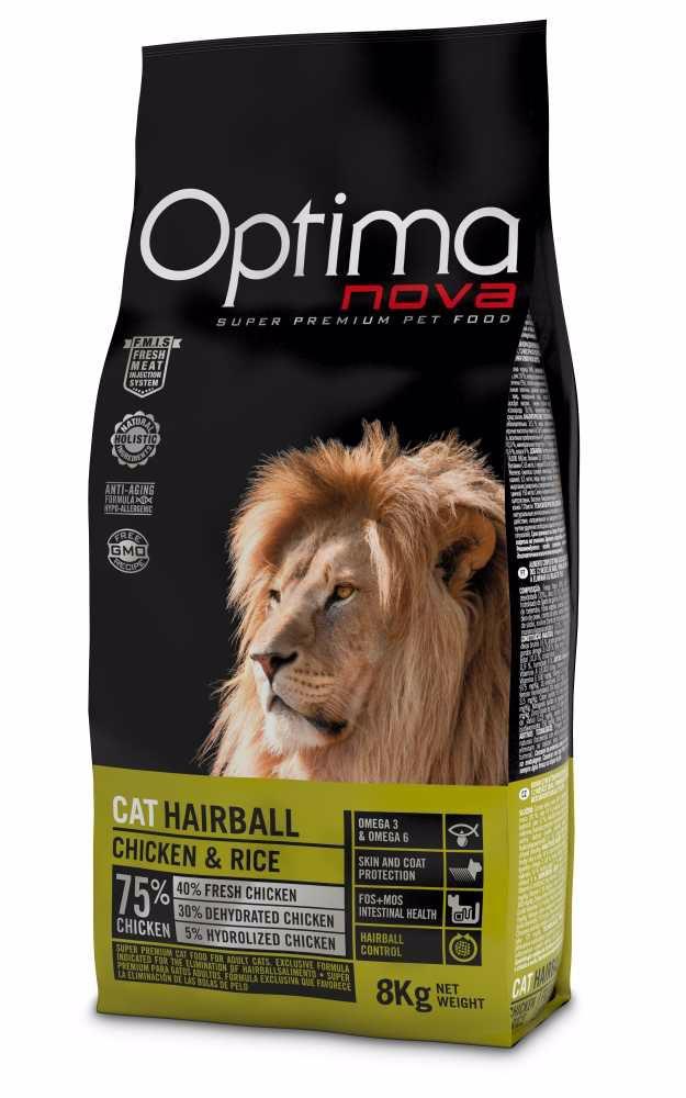 OPTIMAnova CAT HAIRBALL  8kg-10819