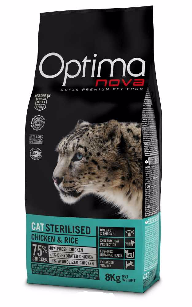OPTIMAnova CAT STERILISED  8kg-10857