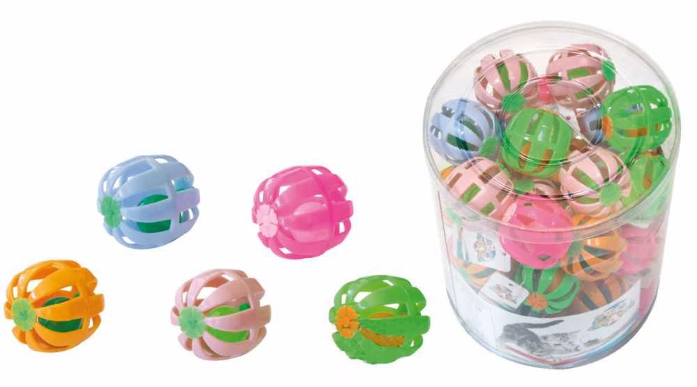 Balónek pro kočky s rolničkou 4 cm