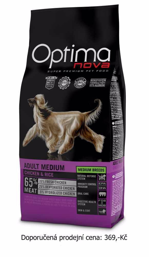 OPTIMAnova dog Adult Medium 12Kg