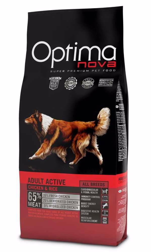 OPTIMAnova Dog Adult Active 12kg