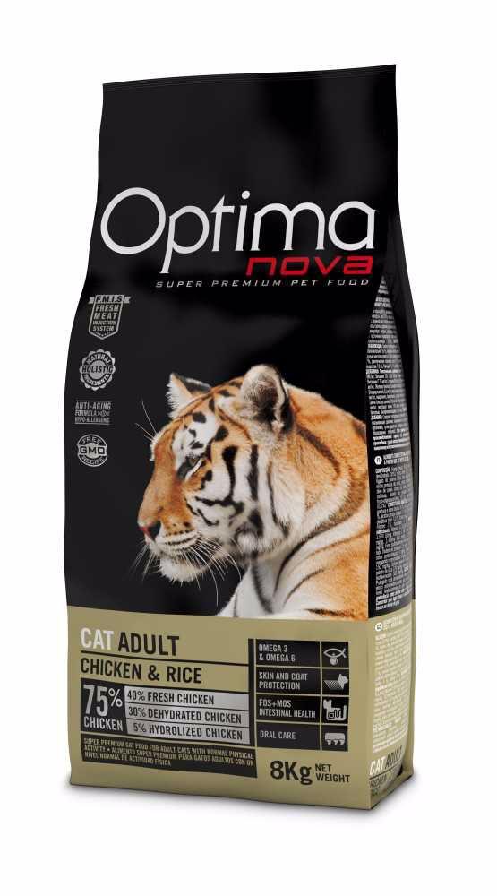 OPTIMAnova CAT ADULT Chicken&Rice 8kg-11234
