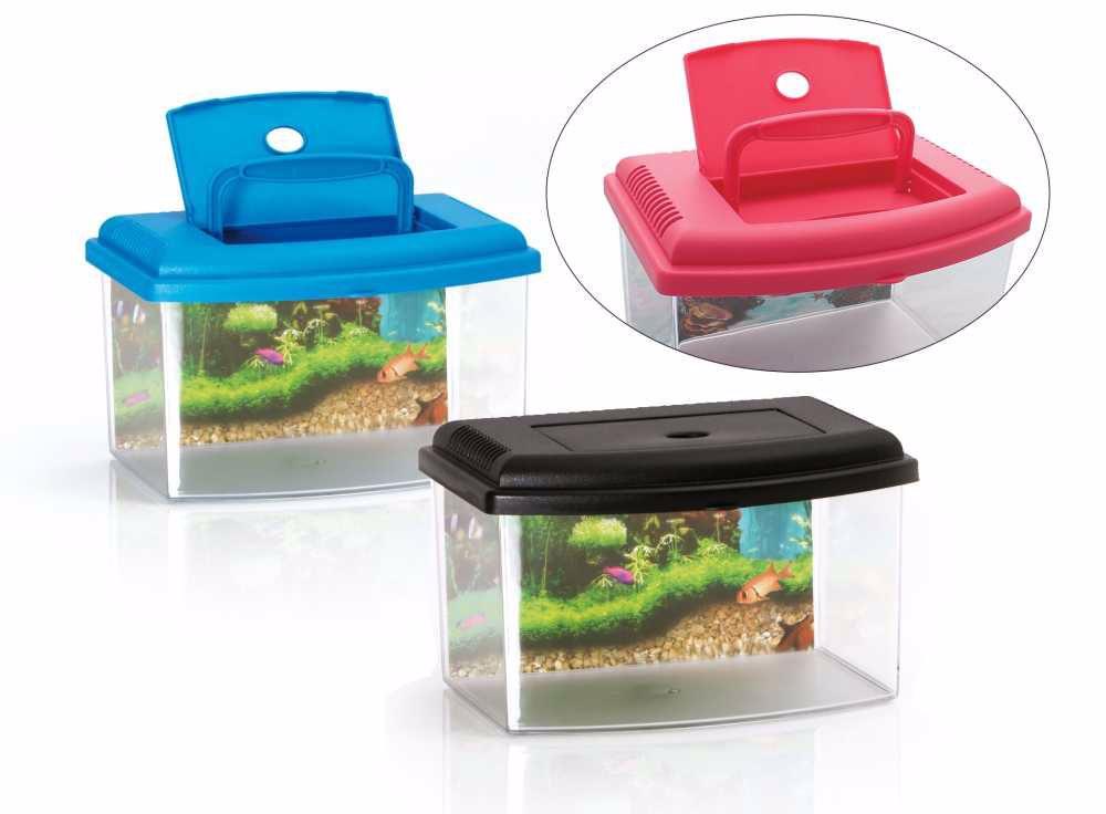 Aquarium 2 plastové-5,5lt-š.28xv20xh17cm-10636