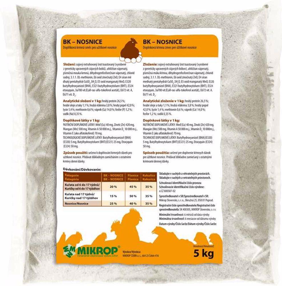 MIKROP nosnice 5 kg