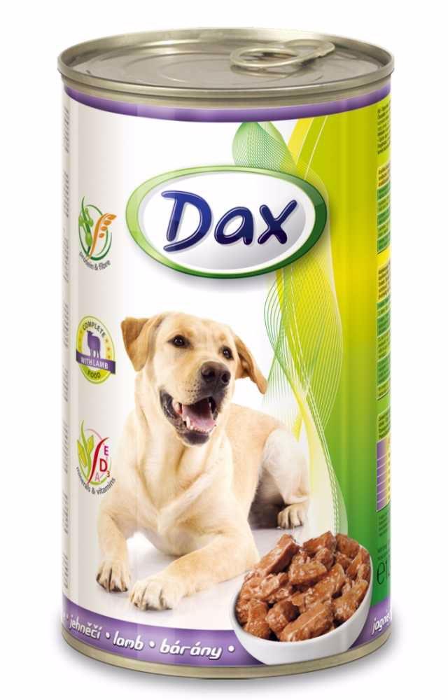 Dax Dog kousky jehněčí 1240 g