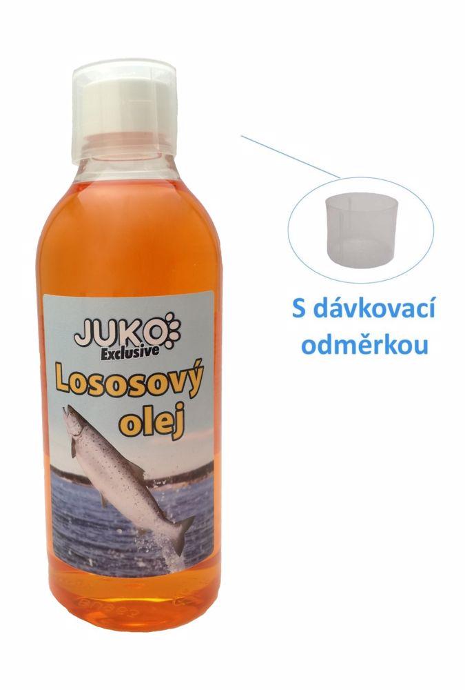 Lososový olej s odměrkou JUKO (500 ml)