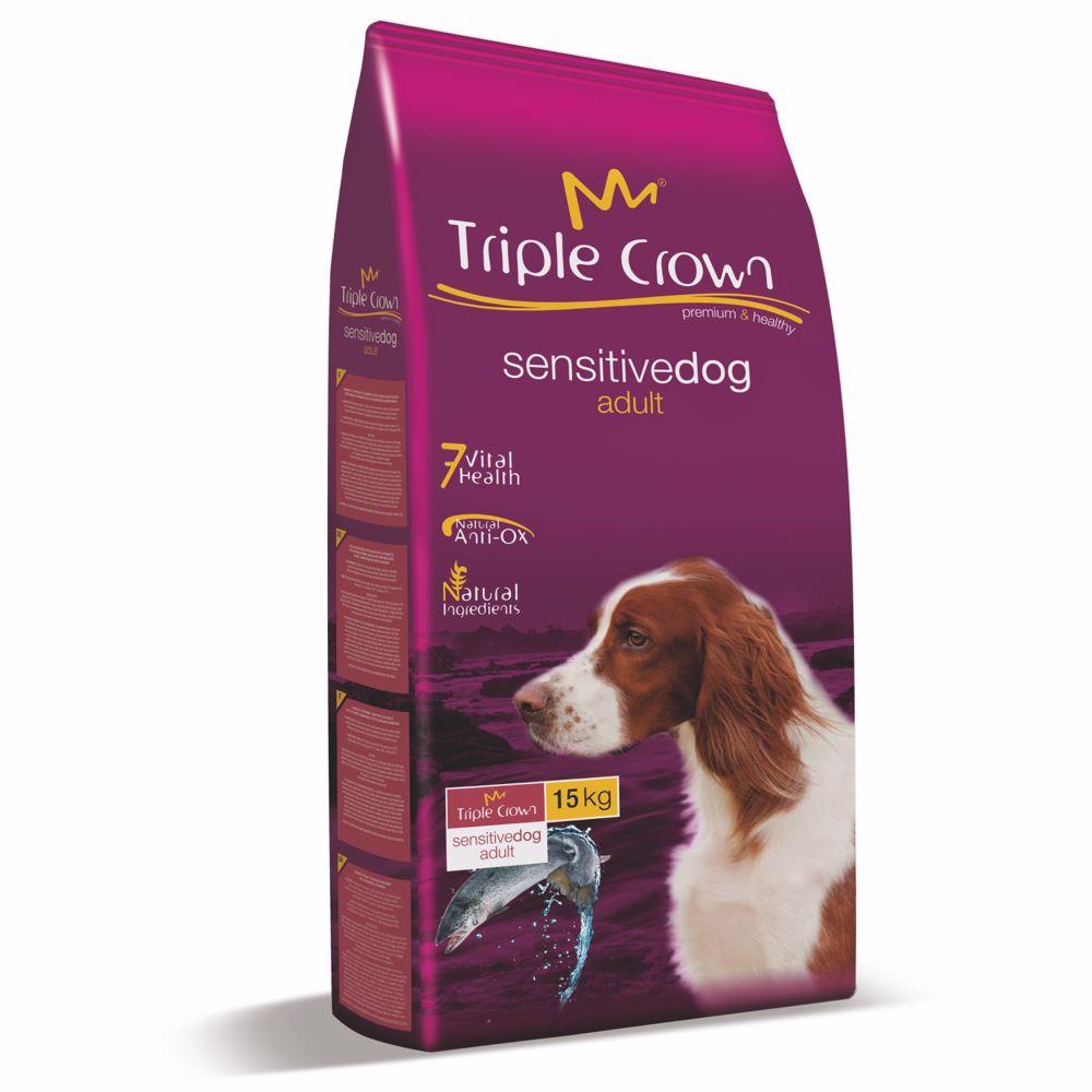 Triple Crown Dog Sensitive 15 kg