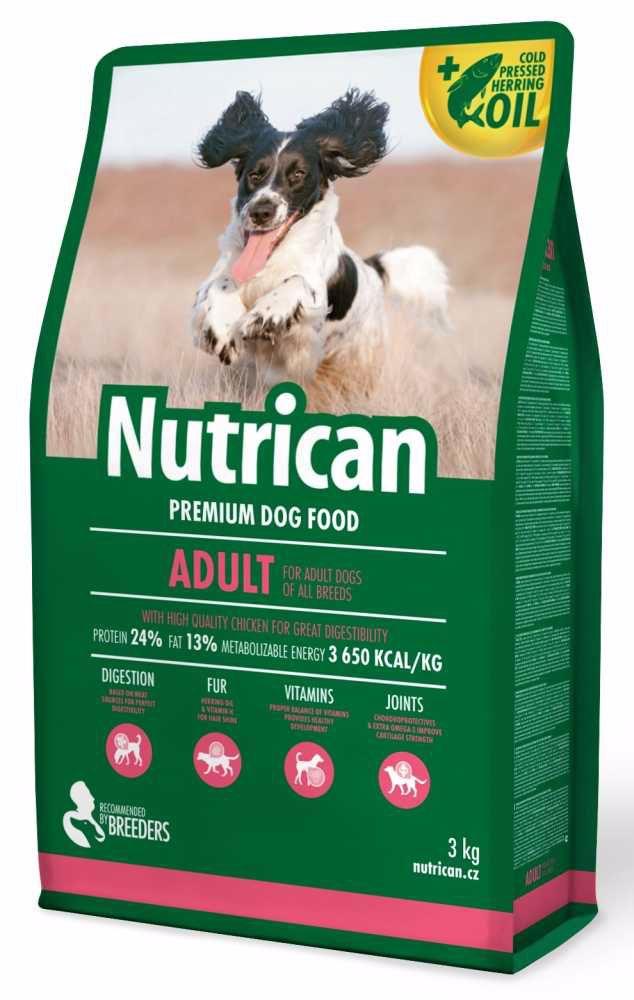 NUTRICAN dog ADULT  3kg-11534