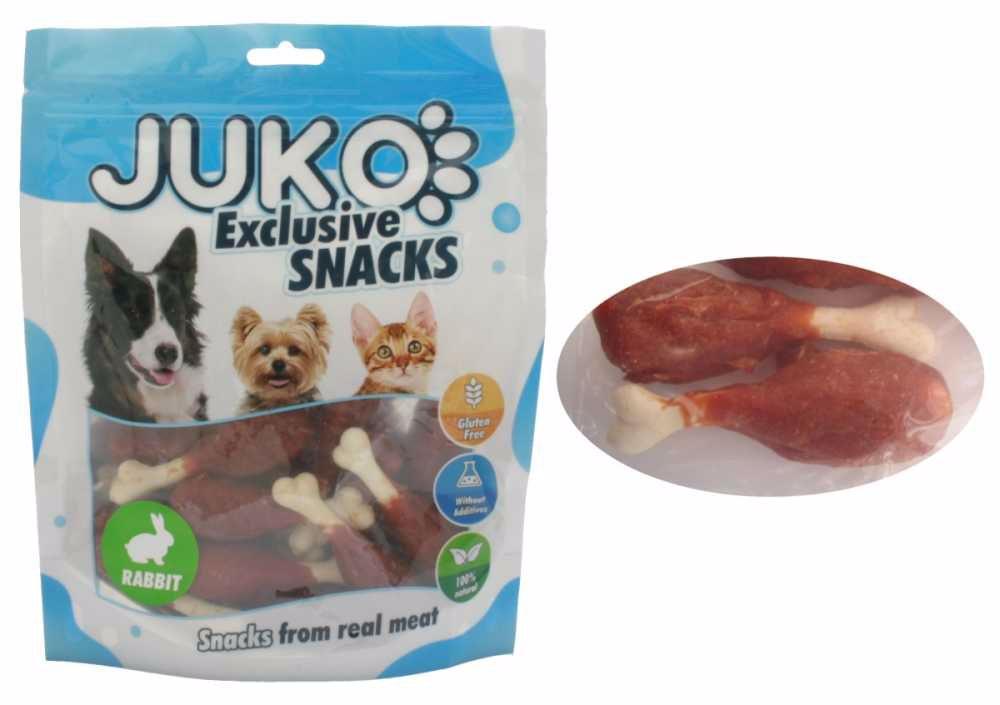 JUKO SNACKS Rabbit leg 250 g