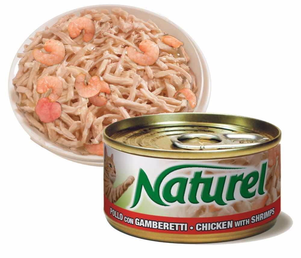 Naturel cat Chicken with Shrimps 70g-010039