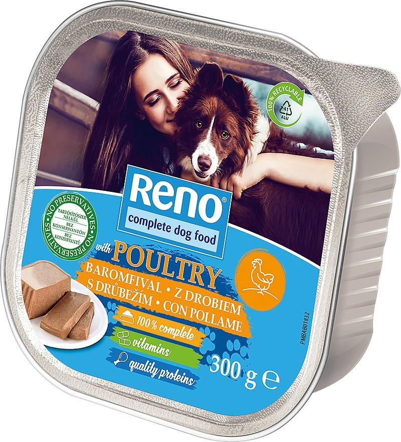 RENO Dog drůbeží, vanička 300 g