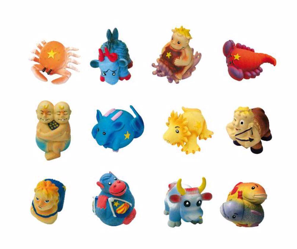 Gumové hračky dle horoskupu