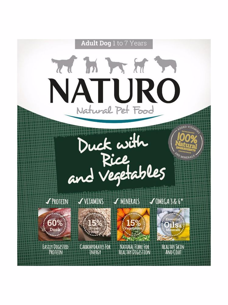 Naturo Dog Adult Duck & Rice with Vegetables 400 g