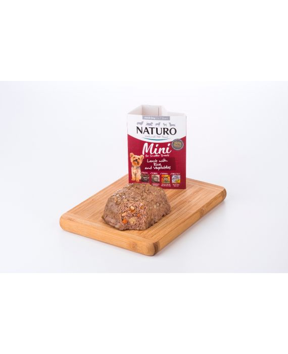 Naturo Dog Adult Lamb & Rice with Vegetables 150 g
