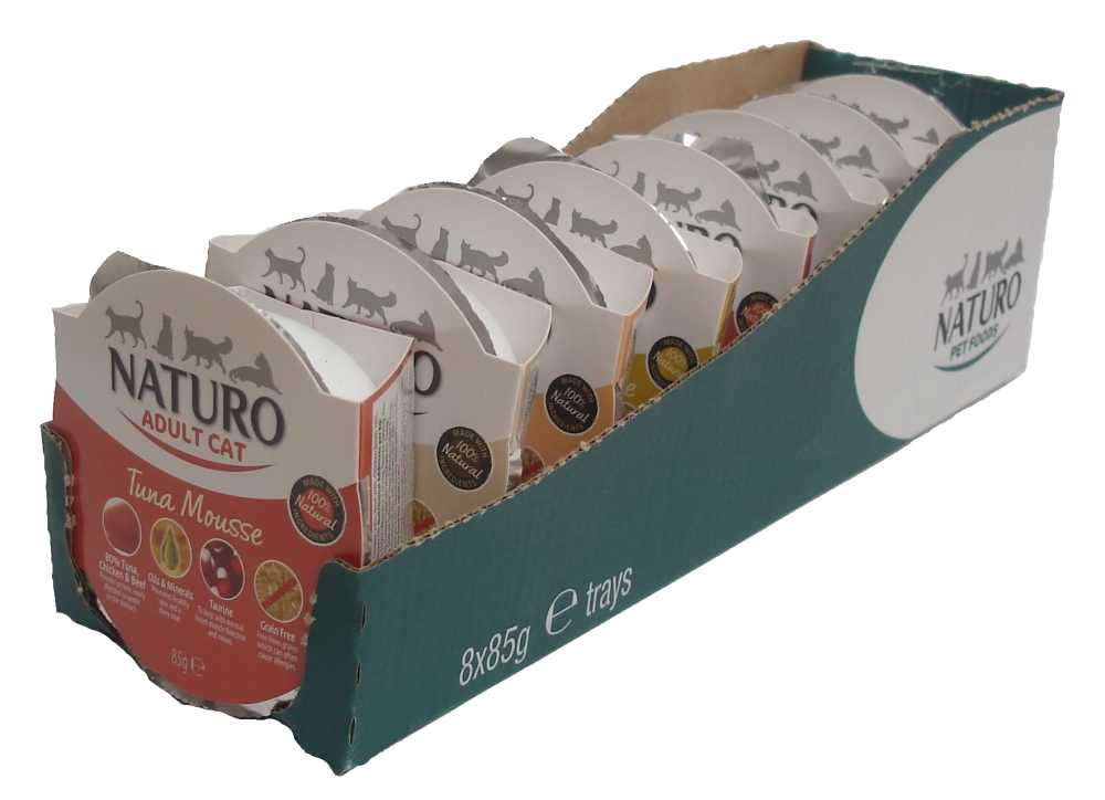 Naturo Cat Chicken Mousse 85 g