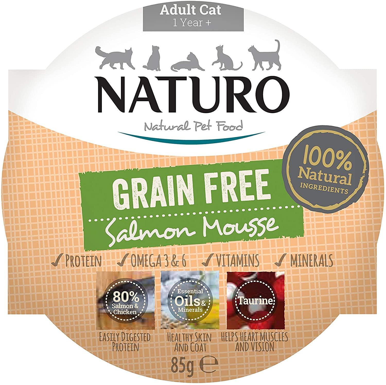Naturo Cat Salmon Mousse 85 g