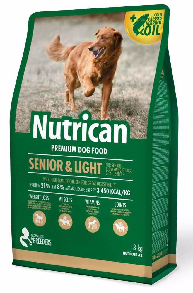 NUTRICAN dog SENIOR & LIGHT  3kg-1197