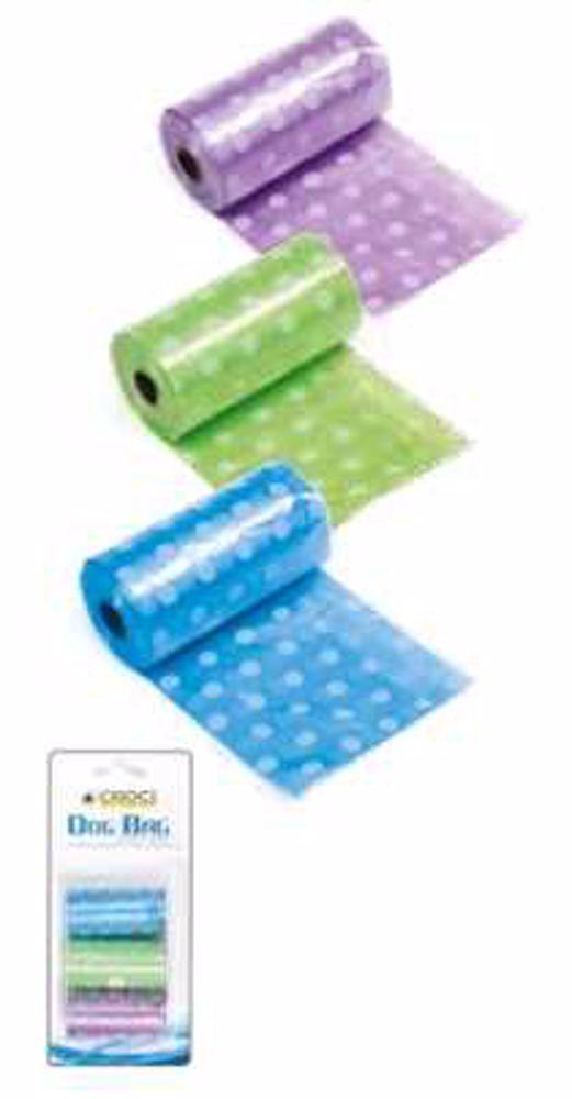 Hygienické sáčky BAREVNÝ  3x20ks-0311C