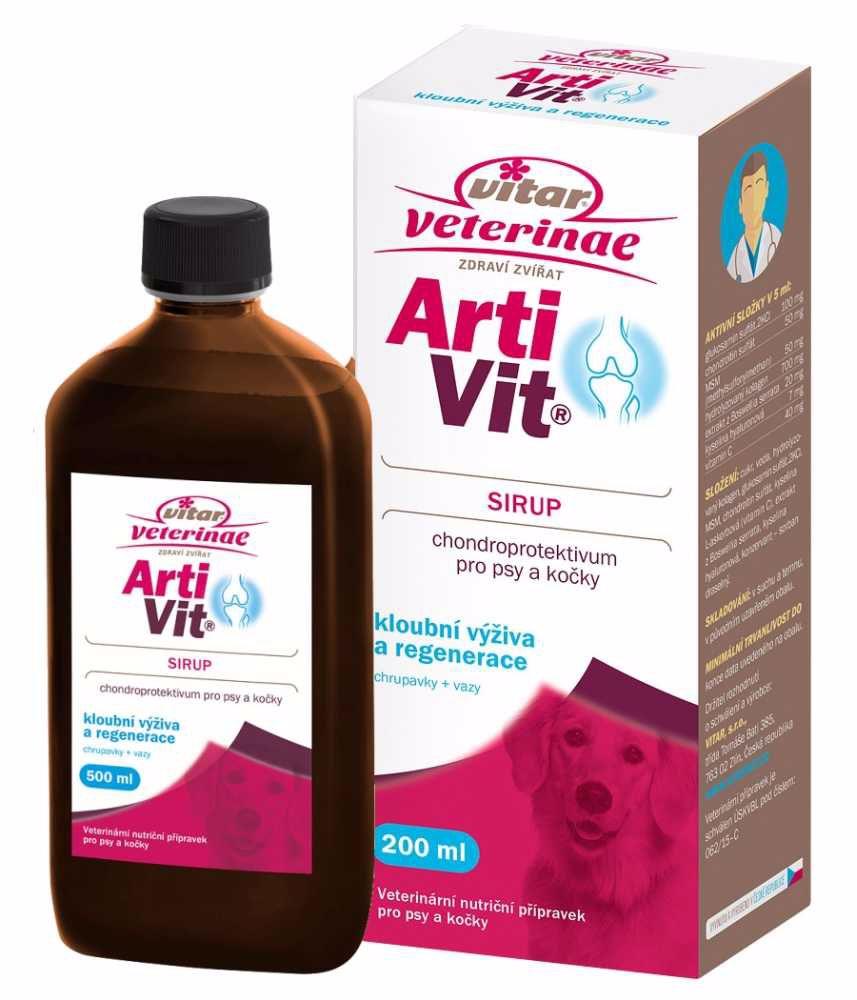 Vitar veterinae Artivit Sirup 200ml-12302