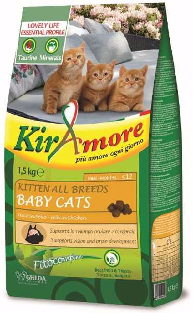 Kiramore Cat Kitten 1,5kg-12344