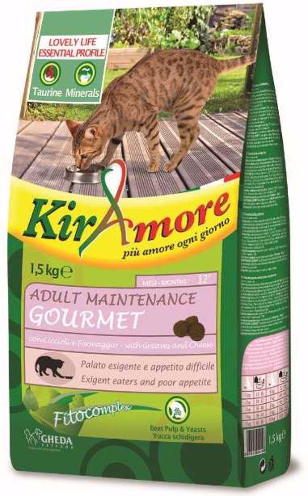 Kiramore Cat Adult Maintenance Gourmet 15 kg
