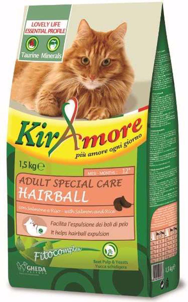Kiramore Cat Adult Hairball 1,5 kg