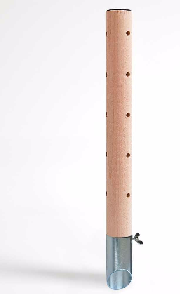 Psí pisoár dřevěný•design 1,pozinkovaný trn-v40cm-12451