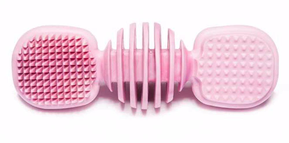 Kousací dentální kartáček plast 14 cm