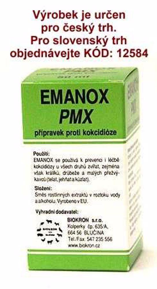 EMANOX PMX proti kokcidióze 50 ml !CZ!